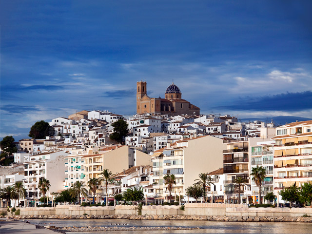 Altea, the Dome Of The Mediterranean